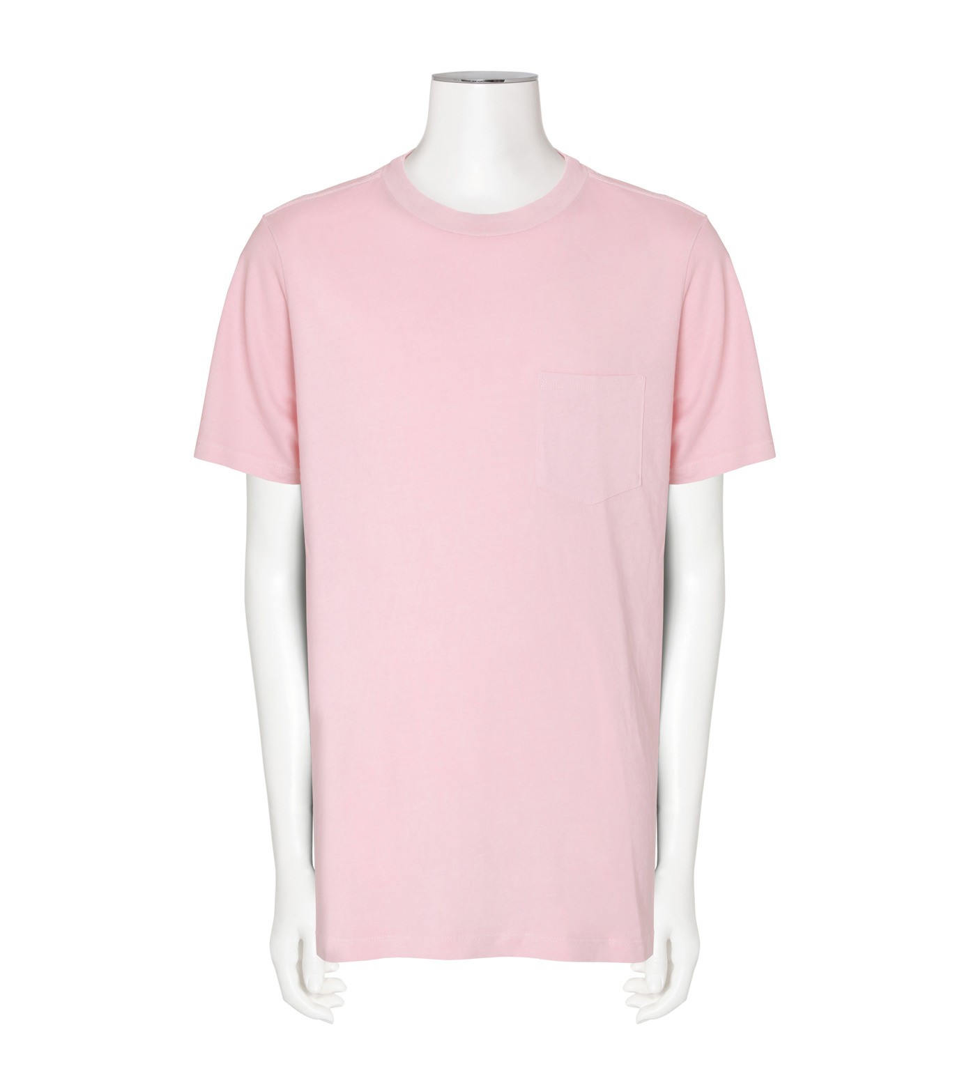 T by Alexander Wang(ティーバイ アレキサンダーワン)のCrew Neck T-PINK(カットソー/cut and sewn)-500211F16-72 拡大詳細画像1