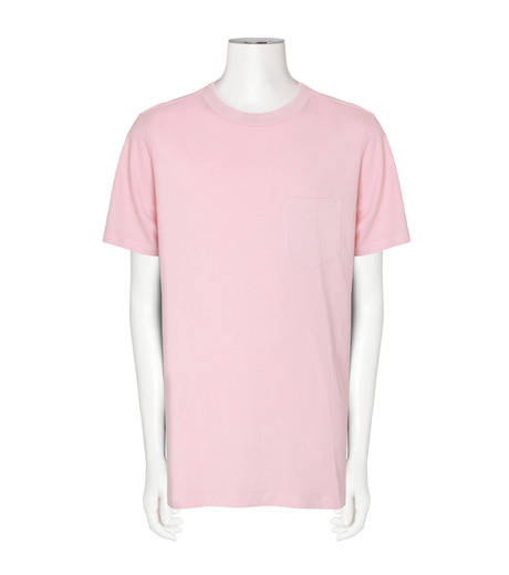 T by Alexander Wang(ティーバイ アレキサンダーワン)のCrew Neck T-PINK(カットソー/cut and sewn)-500211F16-72 詳細画像1