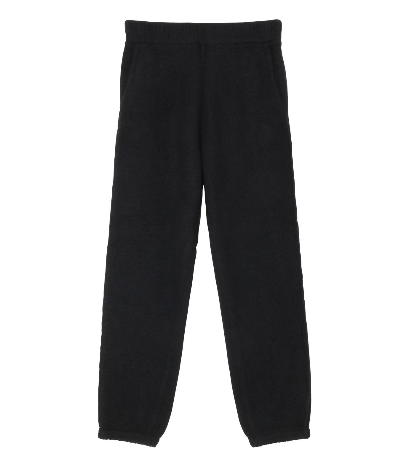 T by Alexander Wang(ティーバイ アレキサンダーワン)のBoiled Wool Pants-BLACK(パンツ/pants)-502601F16-13 拡大詳細画像1