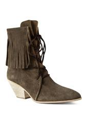 Giuseppe Zanotti Design Suede Fringe Boots