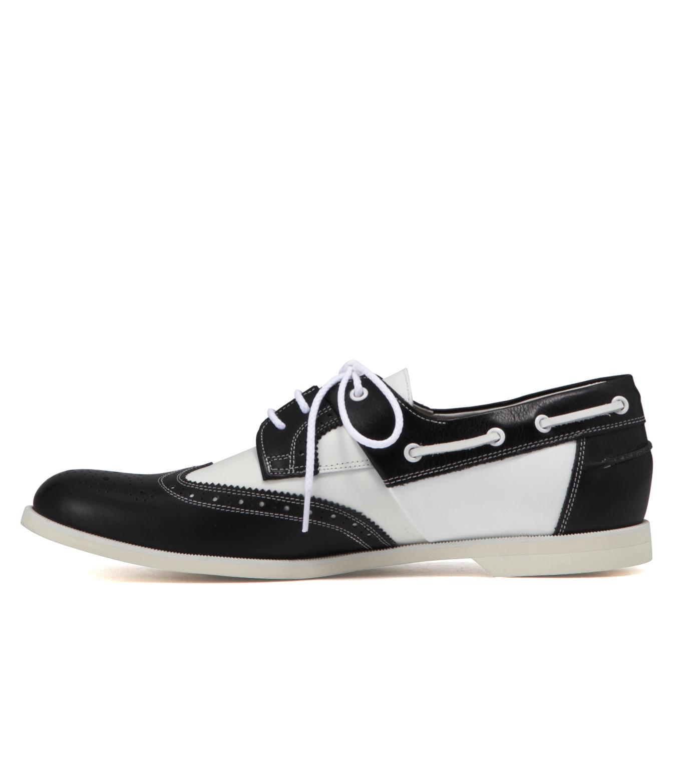 Miharayasuhiro(ミハラヤスヒロ)のHalf Deck Shoes-BLACK-53250500 拡大詳細画像2