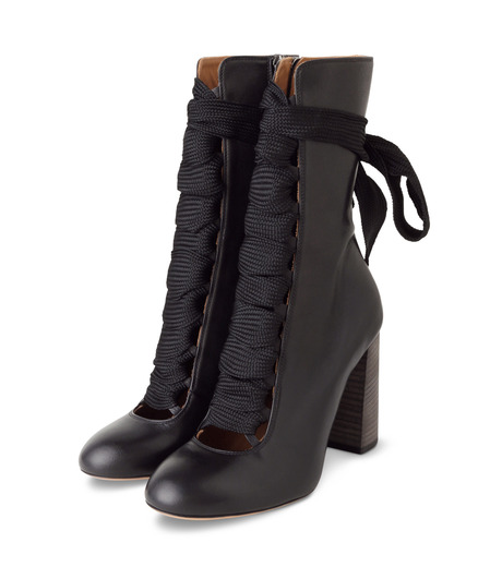 Chloe(クロエ)のharper lace up boots-BLACK(ブーツ/boots)-5534E42B-13 詳細画像3