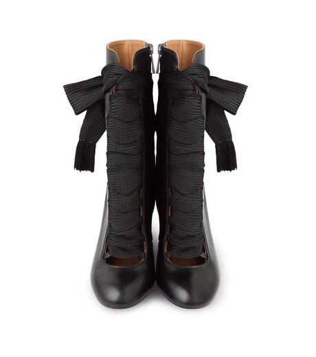 Chloe(クロエ)のharper lace up boots-BLACK(ブーツ/boots)-5534E42B-13 詳細画像4