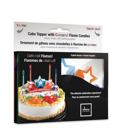 Gloco Accents()のMusical Cake Topper w/color candles-MULTI COLOUR(OTHER-GOODS/OTHER-GOODS)-5602-9 詳細画像1