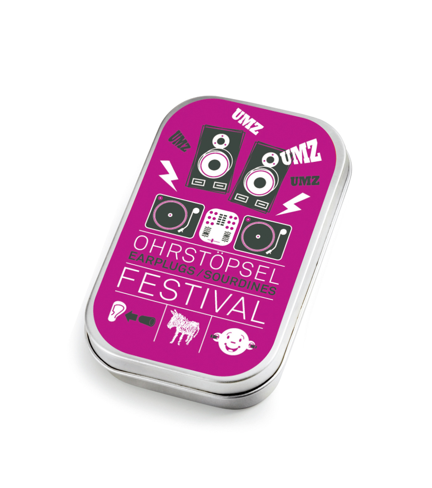 Donkey Products(ドンキー・プロダクツ)のEarplugs - Festival --PURPLE(アザーズ/others)-600402-82 拡大詳細画像1