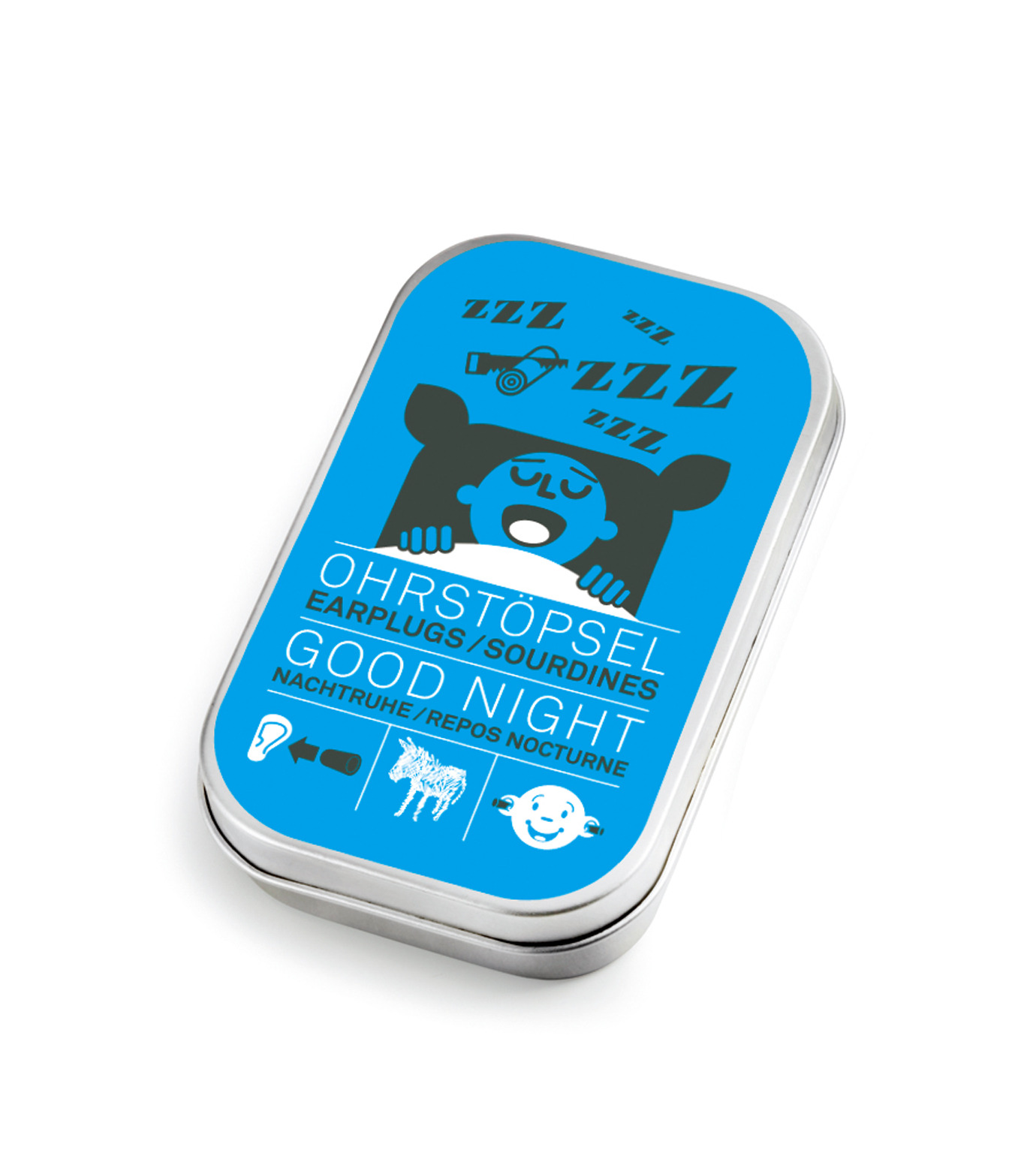 Donkey Products(ドンキー・プロダクツ)のEarplugs - Good Night --BLUE(OTHER-GOODS/OTHER-GOODS)-600403-92 拡大詳細画像1