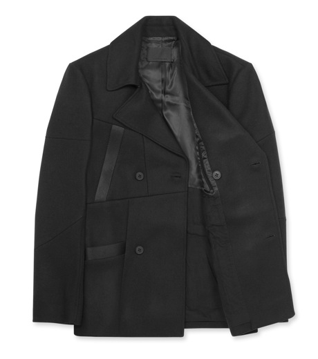 Alexander Wang(アレキサンダーワン)のDouble brested pcoat-BLACK-601002F12-13 詳細画像2