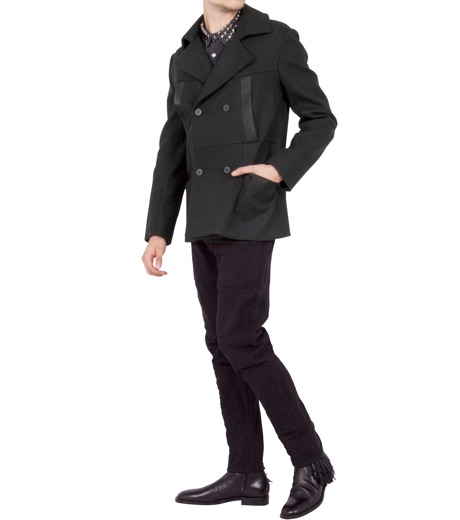 Alexander Wang(アレキサンダーワン)のDouble brested pcoat-BLACK-601002F12-13 詳細画像3