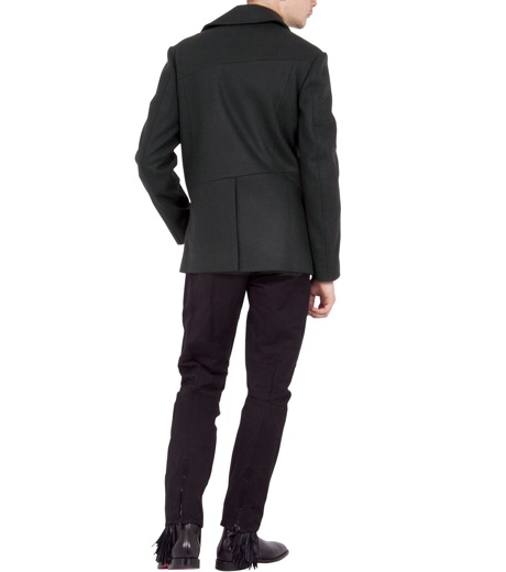 Alexander Wang(アレキサンダーワン)のDouble brested pcoat-BLACK-601002F12-13 詳細画像4