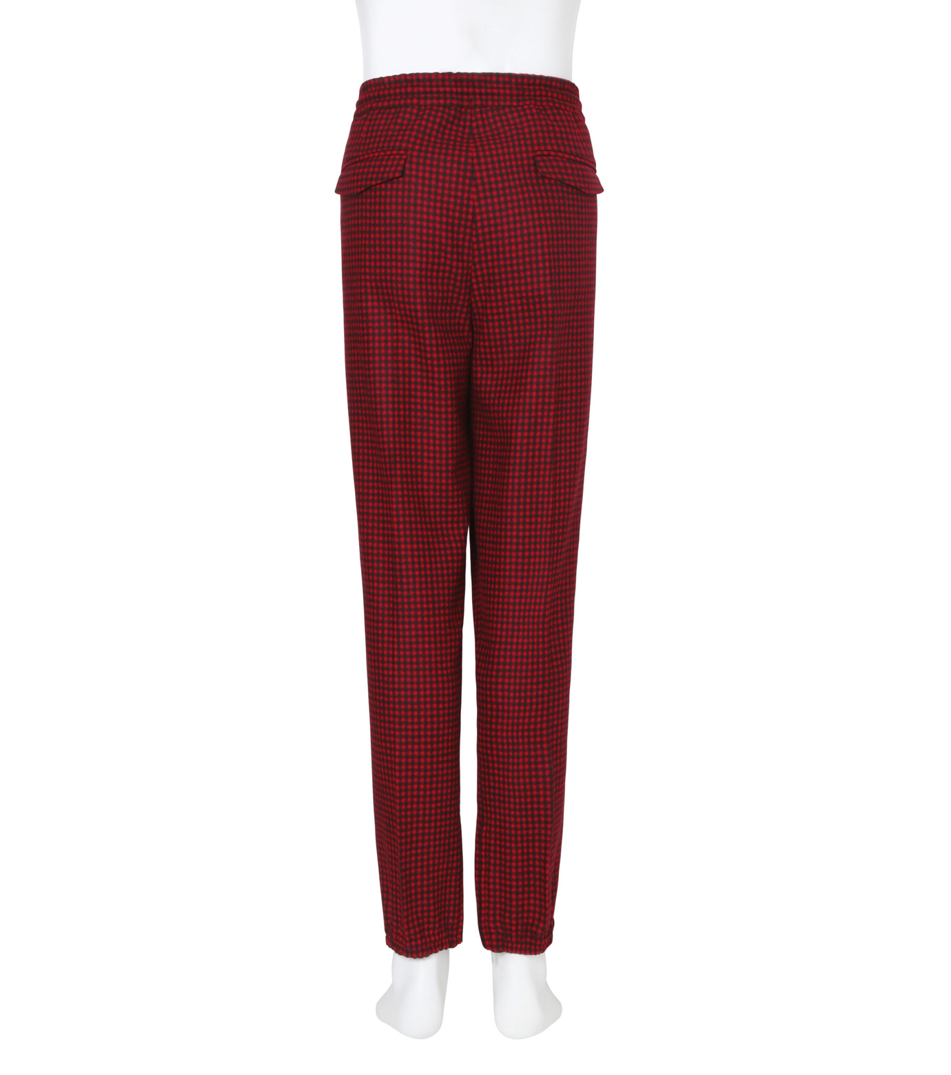 Dior Homme(ディオール オム)のGingam Check Easy Pants-RED-633C165E3748-62 拡大詳細画像2