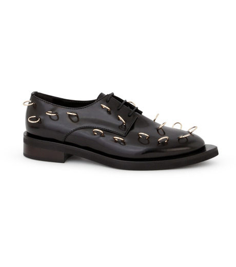 Coliac(コリアック)のRei Rings-BLACK(フラットシューズ/Flat shoes)-64CC023-13 詳細画像1