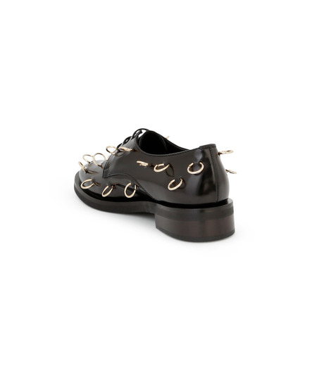 Coliac(コリアック)のRei Rings-BLACK(フラットシューズ/Flat shoes)-64CC023-13 詳細画像3