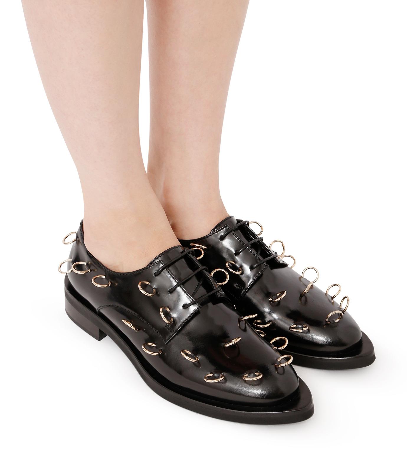 Coliac(コリアック)のRei Rings-BLACK(フラットシューズ/Flat shoes)-64CC023-13 拡大詳細画像5