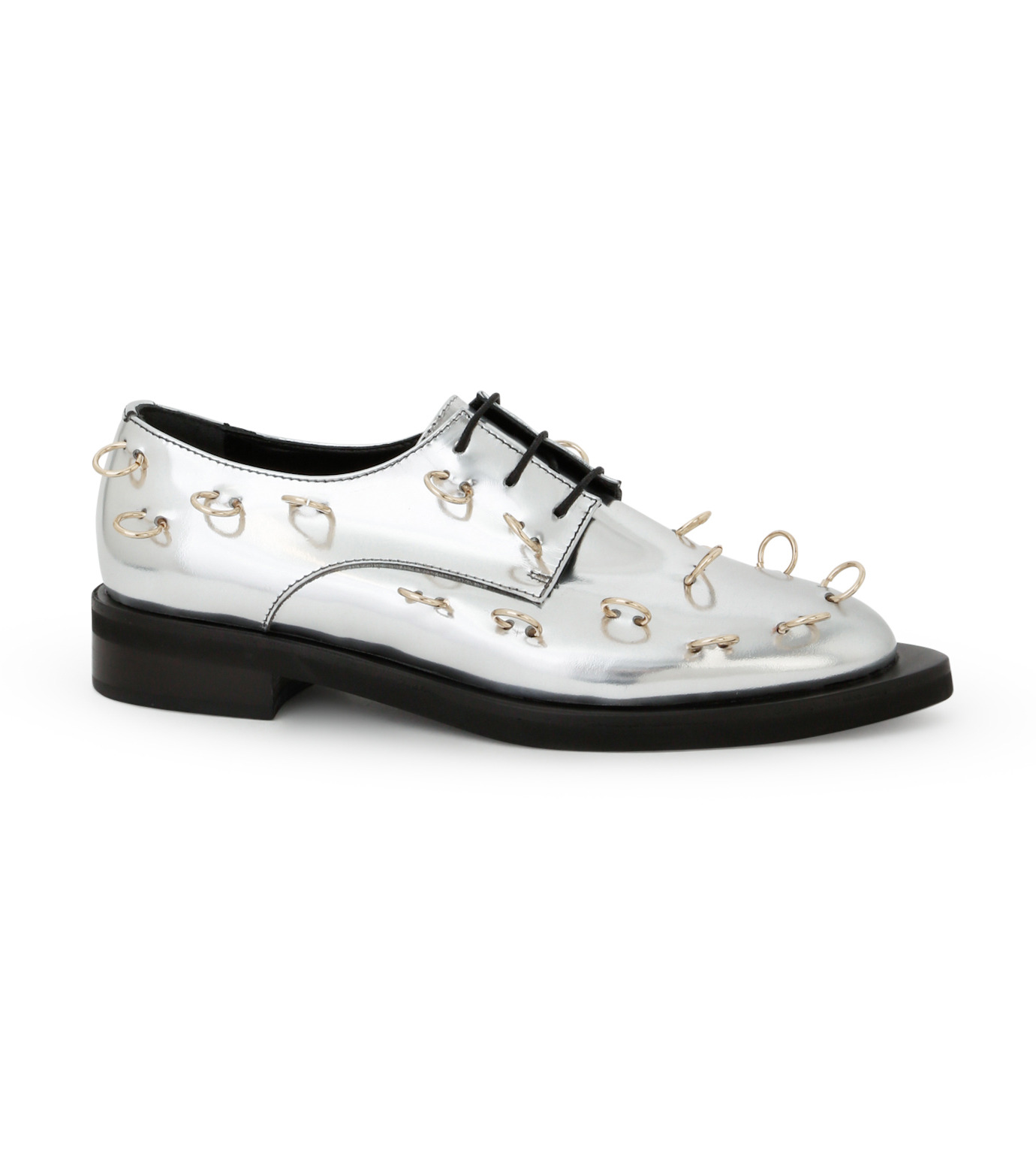 Coliac(コリアック)のRei Rings-SILVER(フラットシューズ/Flat shoes)-64CC124-1 拡大詳細画像1