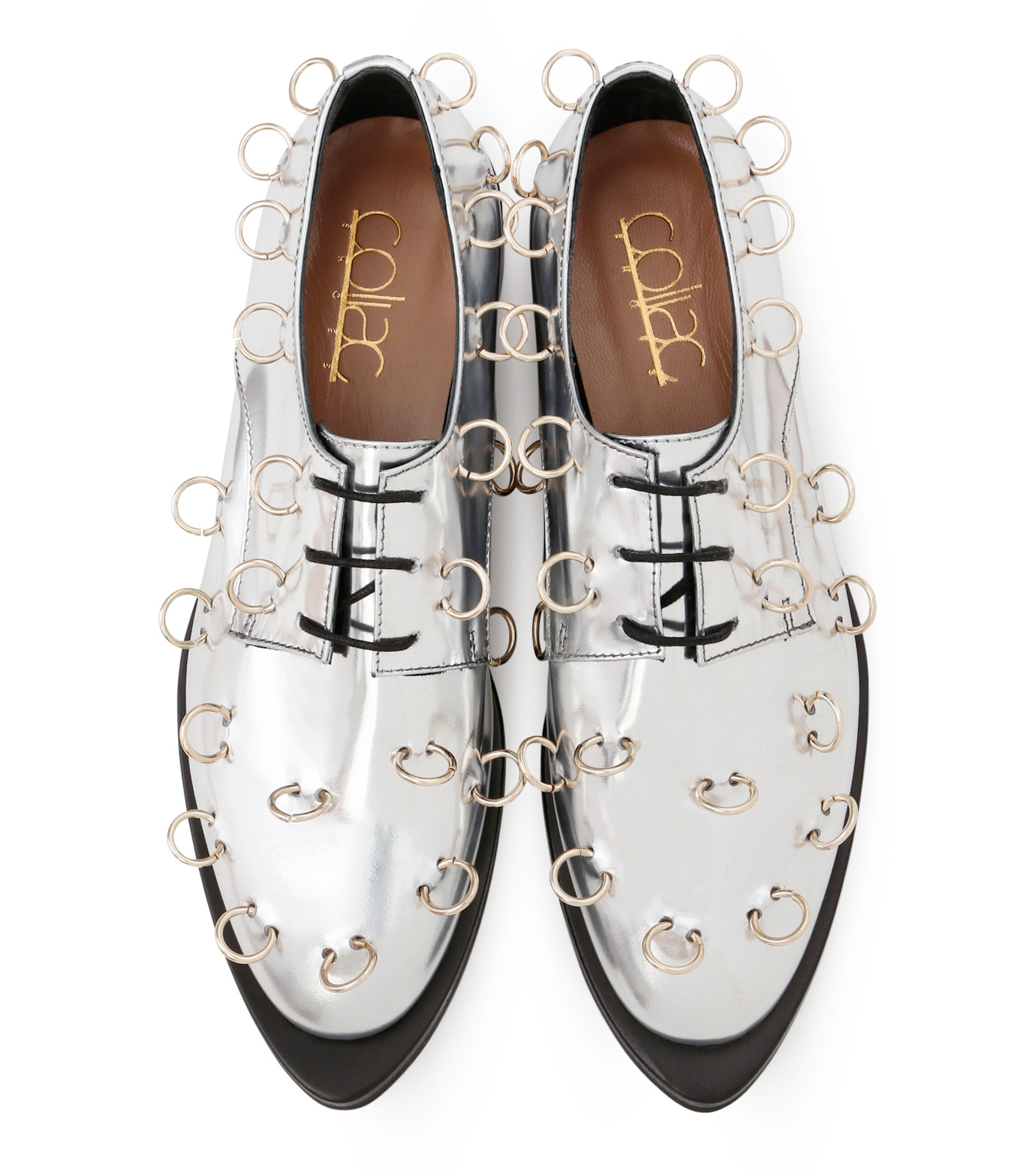 Coliac(コリアック)のRei Rings-SILVER(フラットシューズ/Flat shoes)-64CC124-1 拡大詳細画像4