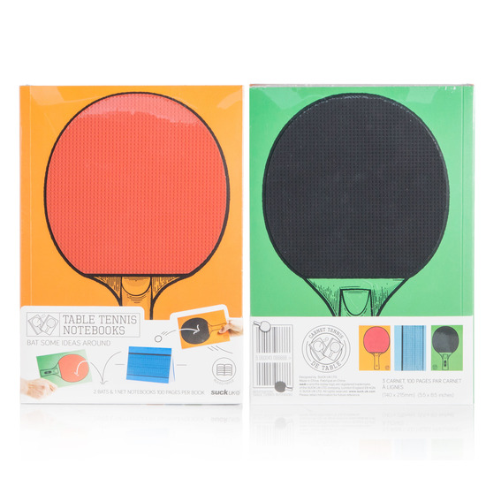 Suck UK(サックユーケー)のtable tennis notebook-MULTI COLOUR(OTHER-GOODS/OTHER-GOODS)-67412-9 拡大詳細画像9