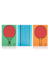 Suck UK table tennis notebook