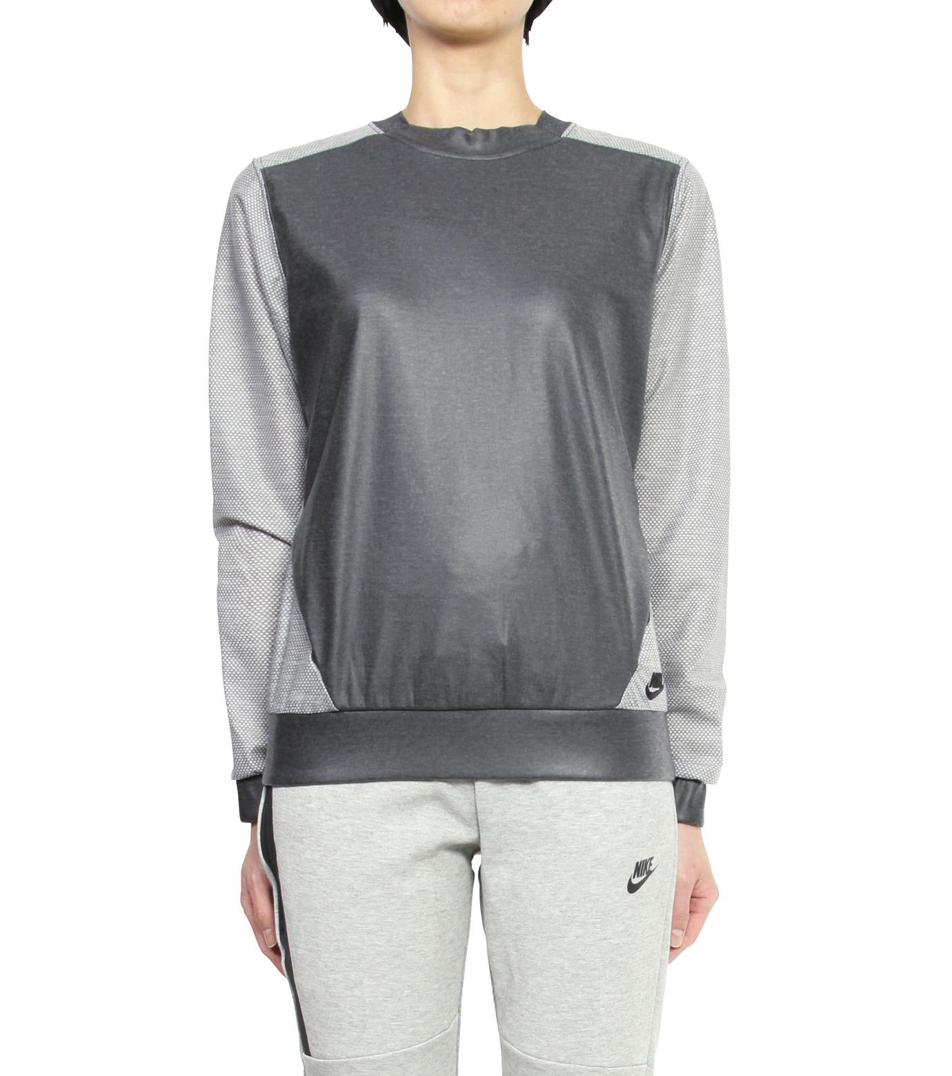 NIKE(ナイキ)のMESH CREW-BLACK(カットソー/cut and sewn)-704663-010-12 拡大詳細画像1