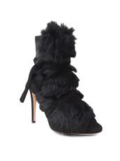 Gianvito Rossi(ジャンヴィト ロッシ) Short Boots w/Goat Fur