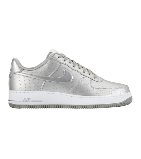 NIKE(ナイキ)のAIR FORCE 1 07 LV8-SILVER(シューズ/shoes)-718152-013-1 詳細画像1