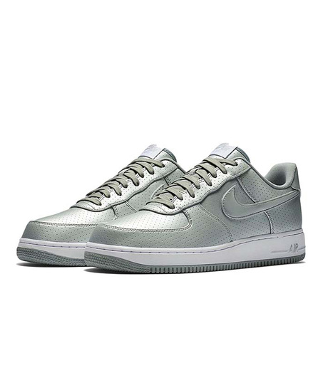 NIKE(ナイキ)のAIR FORCE 1 07 LV8-SILVER(シューズ/shoes)-718152-013-1 詳細画像3