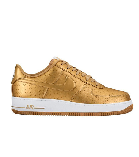NIKE(ナイキ)のAIR FORCE 1 07 LV8-GOLD(シューズ/shoes)-718152-700-2 詳細画像1
