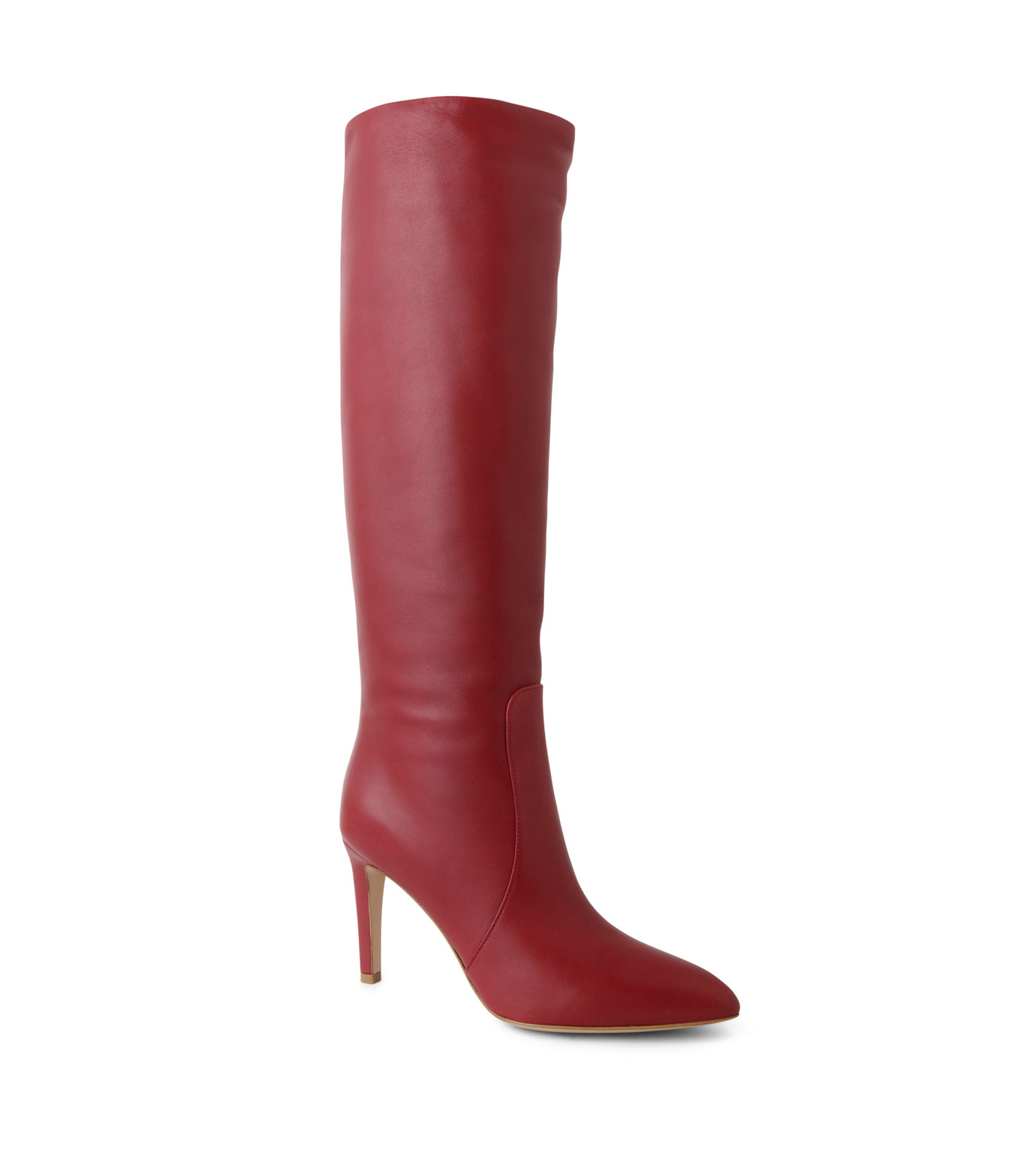 Gianvito Rossi(ジャンヴィト ロッシ)のSlouchy Boots-RED(ブーツ/boots)-80835-62 拡大詳細画像1