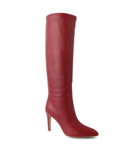 Gianvito Rossi(ジャンヴィト ロッシ)のSlouchy Boots-RED(ブーツ/boots)-80835-62 詳細画像1