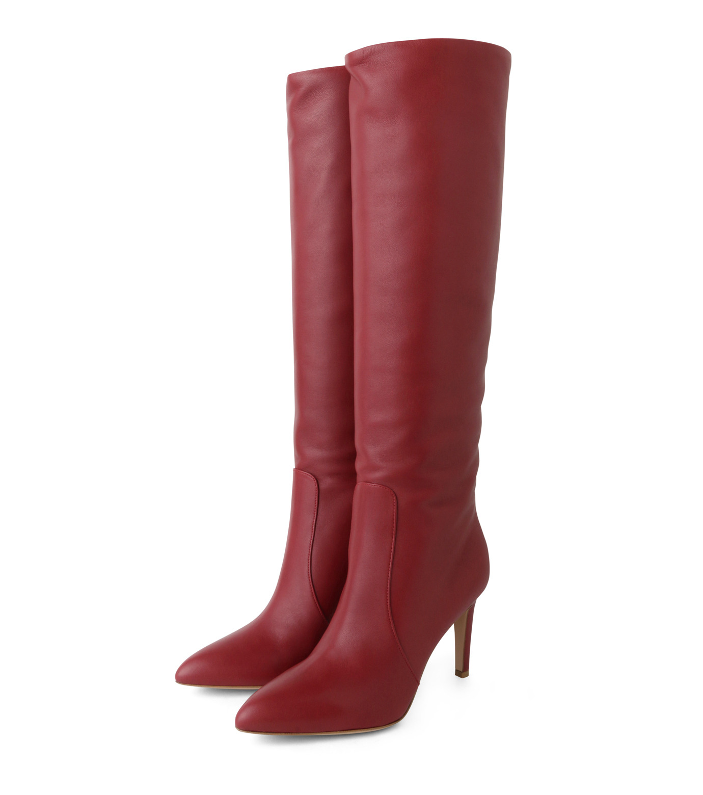 Gianvito Rossi(ジャンヴィト ロッシ)のSlouchy Boots-RED(ブーツ/boots)-80835-62 拡大詳細画像3