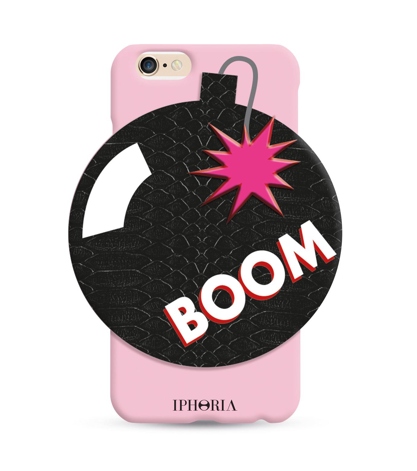 IPHORIA(アイフォリア)のBOOM 6/6S-PINK(ケースiphone6/6s/case iphone6/6s)-81405-72 拡大詳細画像1