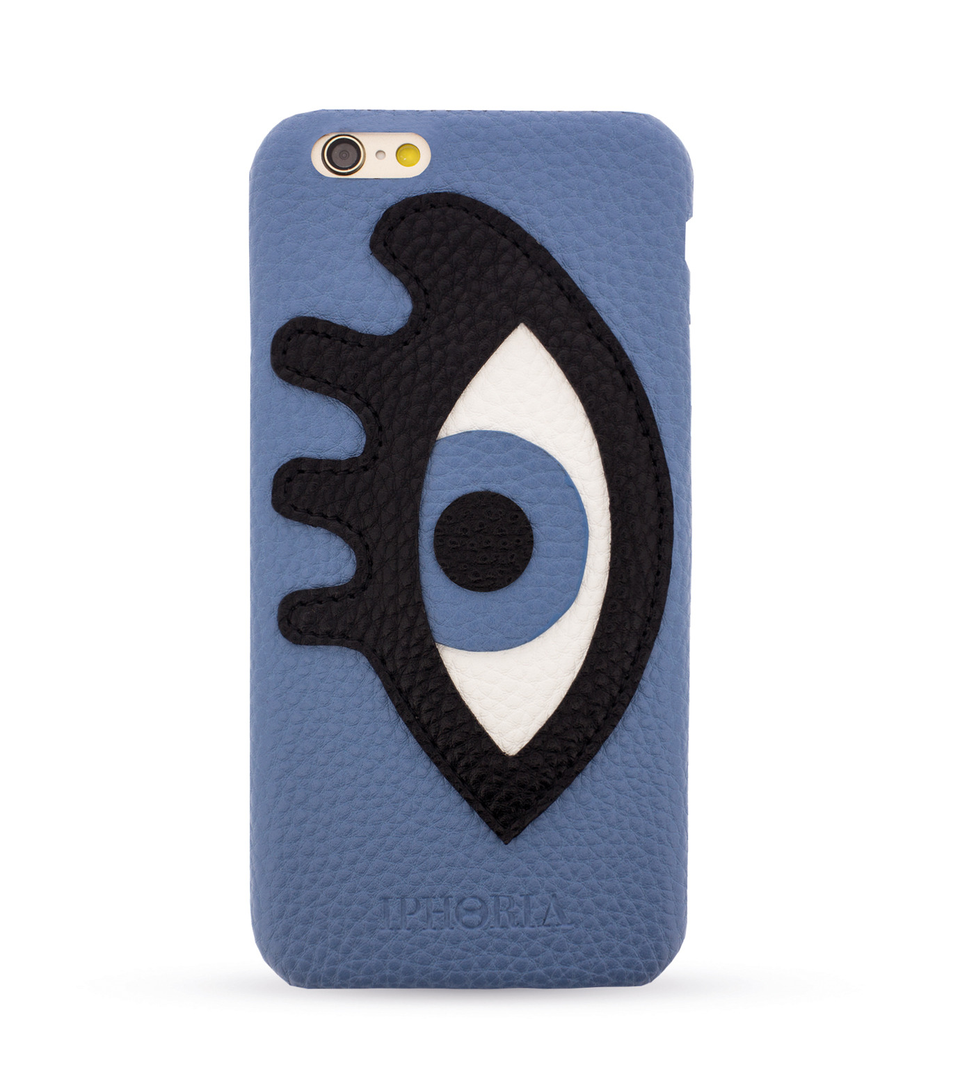 IPHORIA(アイフォリア)のEYE PACTH-BLUE 6/6S-BLUE(ケースiphone6/6s/case iphone6/6s)-81627-92 拡大詳細画像1