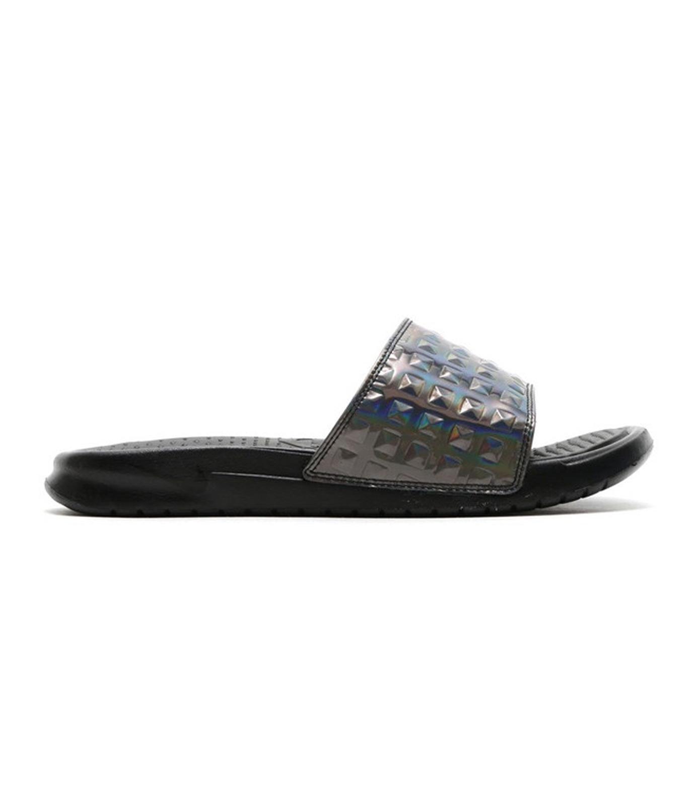 NIKE(ナイキ)のBENASSI JDI-BLACK(シューズ/shoes)-818737-003-13 拡大詳細画像1