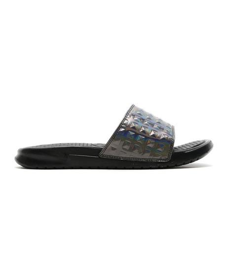 NIKE(ナイキ)のBENASSI JDI-BLACK(シューズ/shoes)-818737-003-13 詳細画像1