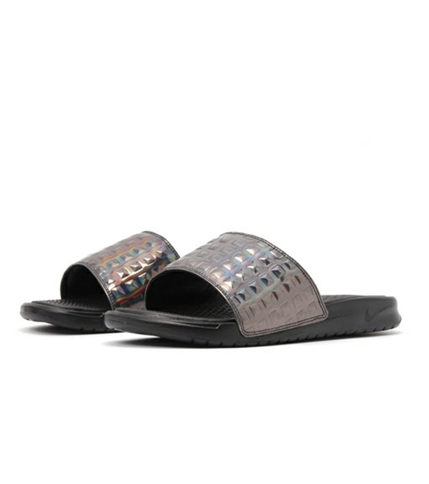 NIKE(ナイキ)のBENASSI JDI-BLACK(シューズ/shoes)-818737-003-13 拡大詳細画像3
