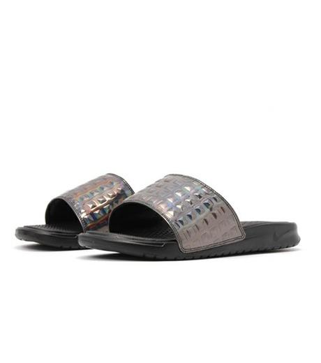 NIKE(ナイキ)のBENASSI JDI-BLACK(シューズ/shoes)-818737-003-13 詳細画像3