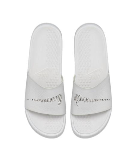 NIKE(ナイキ)のBenassi Slide Lux-WHITE(シューズ/shoes)-818742-100-4 詳細画像4