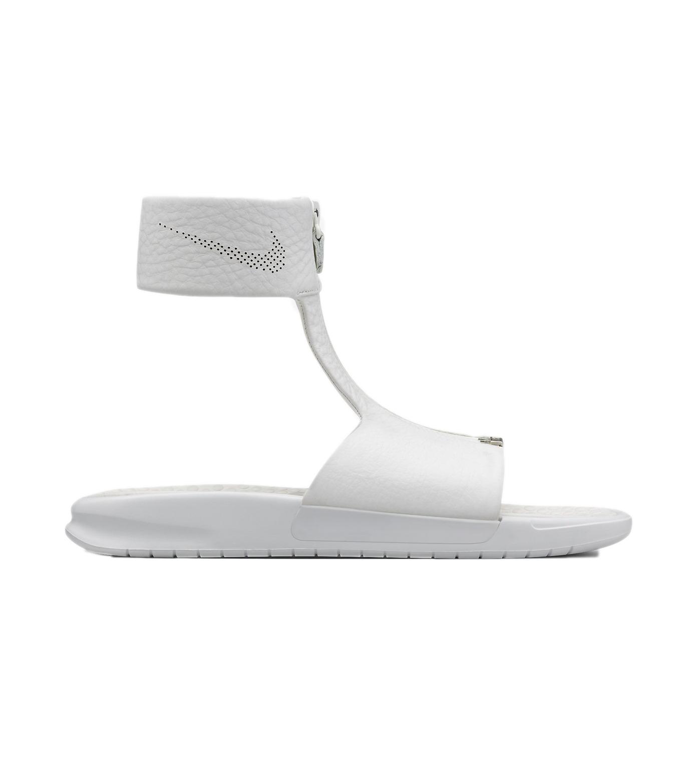 NIKE(ナイキ)のBenassi CUFF-WHITE(シューズ/shoes)-819684-100-4 拡大詳細画像1
