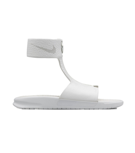 NIKE(ナイキ)のBenassi CUFF-WHITE(シューズ/shoes)-819684-100-4 詳細画像1