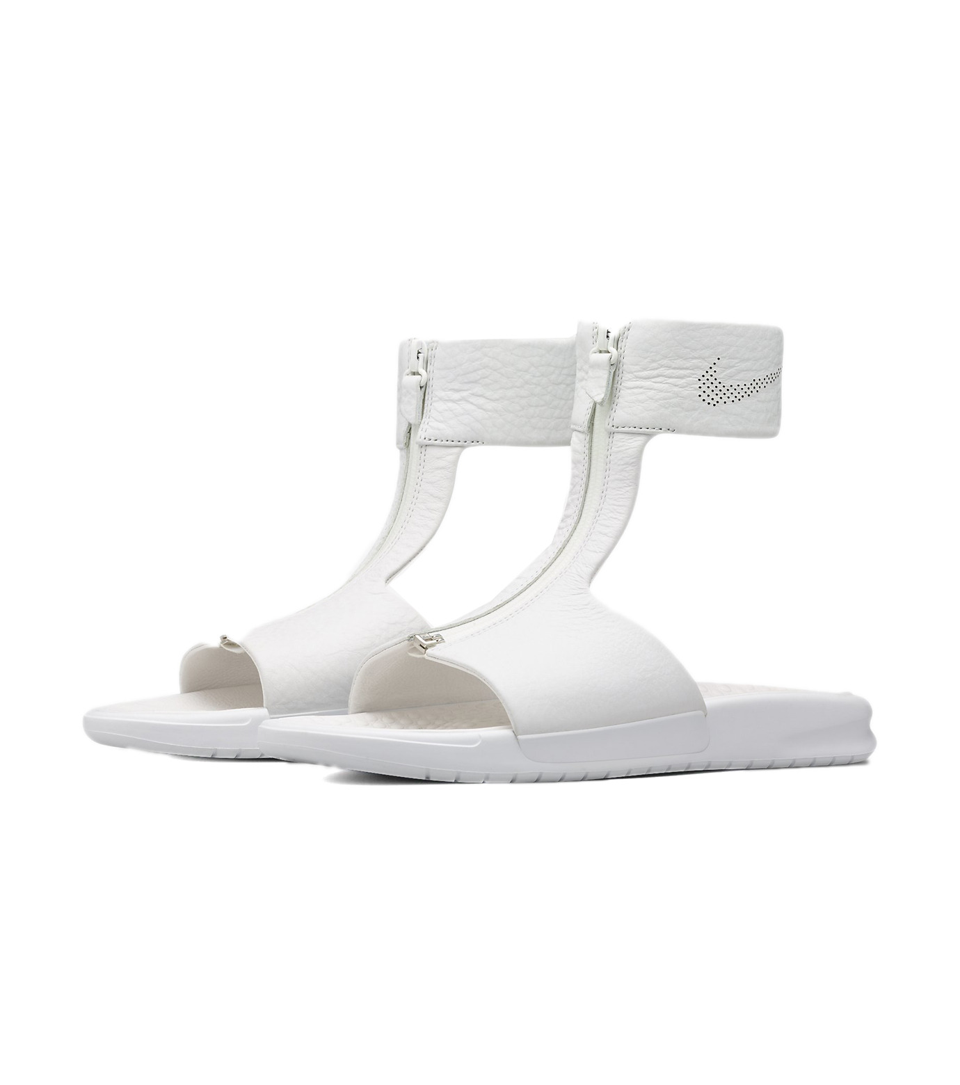 NIKE(ナイキ)のBenassi CUFF-WHITE(シューズ/shoes)-819684-100-4 拡大詳細画像3