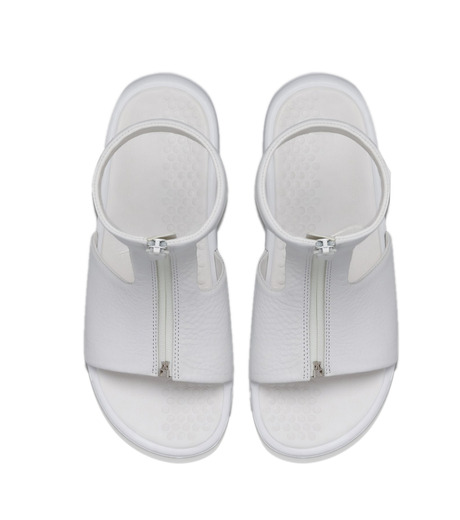 NIKE(ナイキ)のBenassi CUFF-WHITE(シューズ/shoes)-819684-100-4 詳細画像4