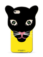 IPHORIA ANIMAL LEO HEAD YELLOWBLACK for7