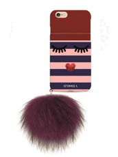 IPHORIA MONSTER GOLDEN STRIPES WITH POM for7