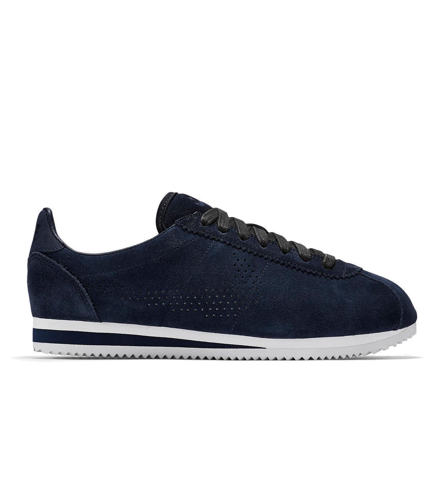 NIKE(ナイキ)のCLASSIC CORTEZ LX-BLUE(シューズ/shoes)-823914-400-92 拡大詳細画像1