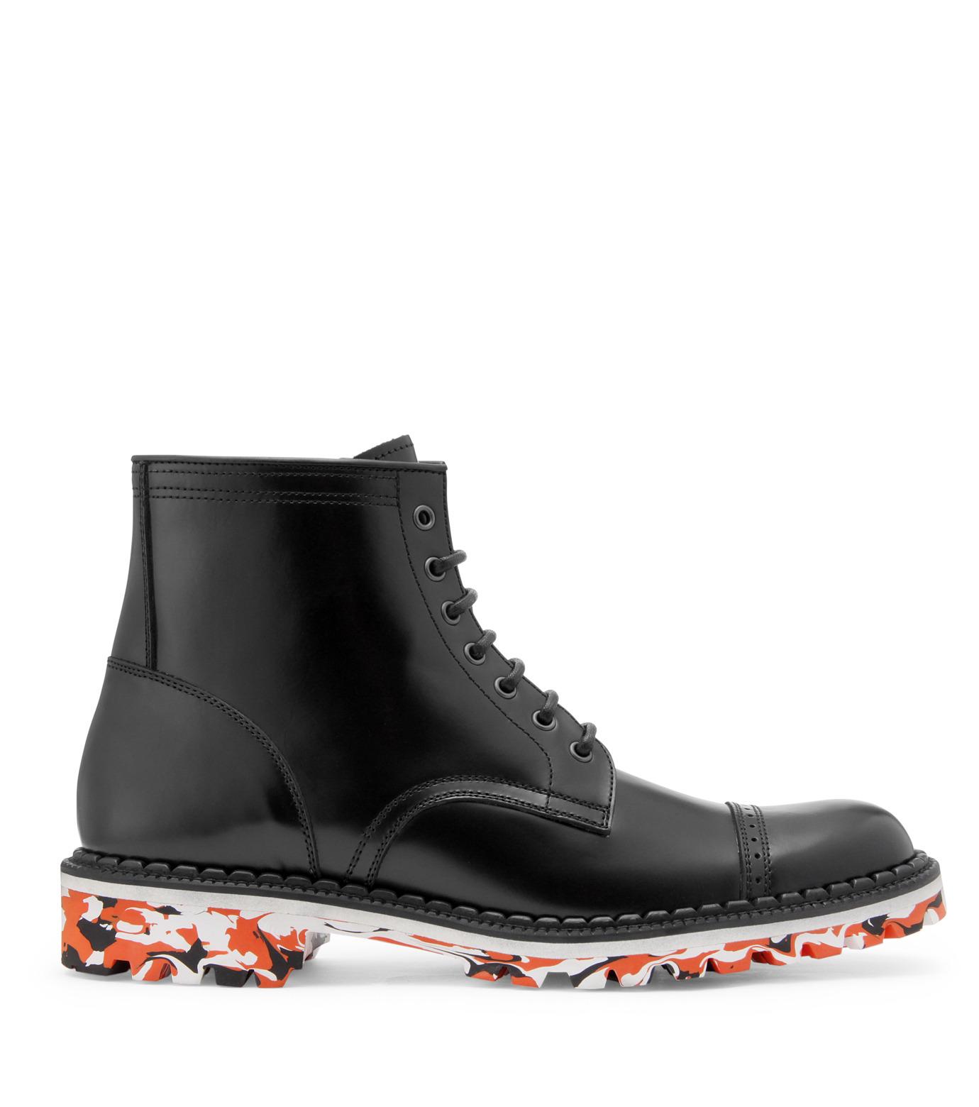 Miharayasuhiro(ミハラヤスヒロ)のMarble sole boots-BLACK-83230200-13 拡大詳細画像1