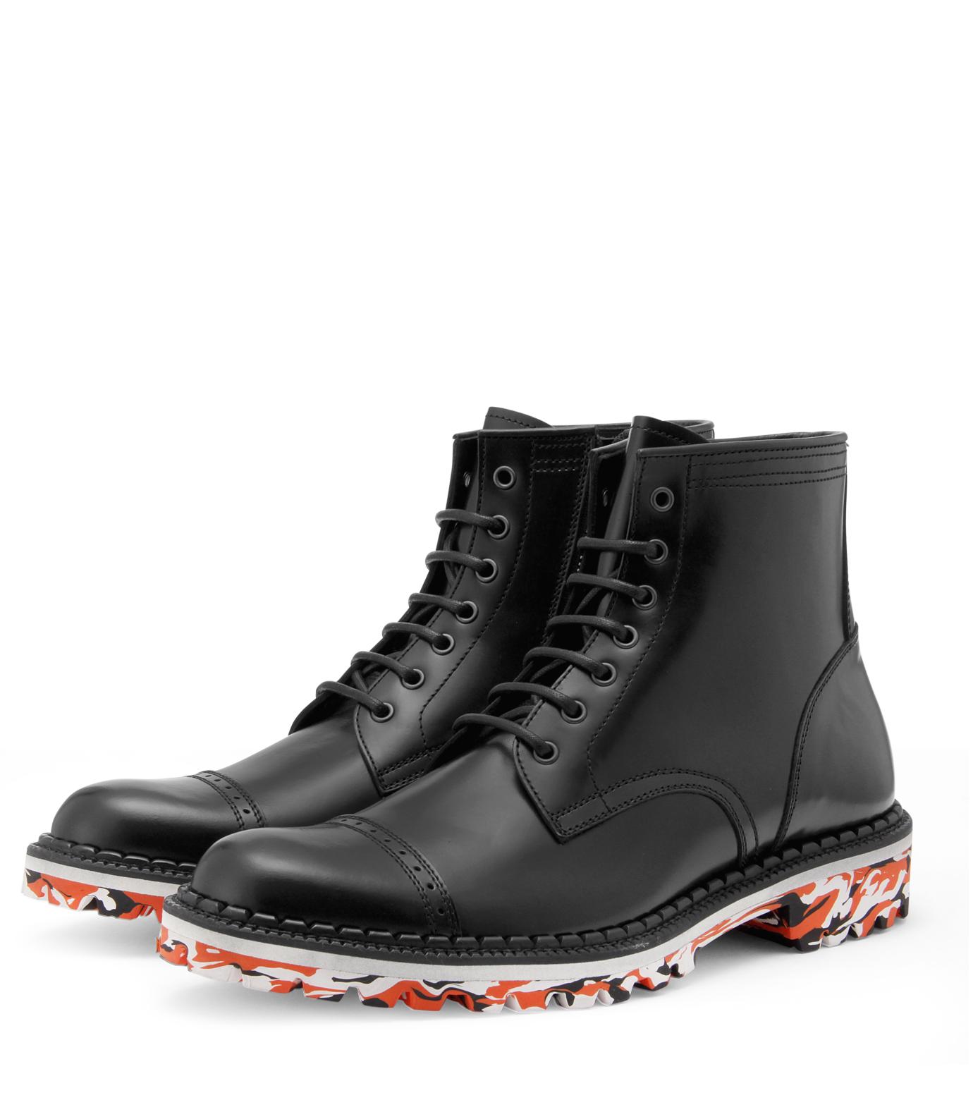 Miharayasuhiro(ミハラヤスヒロ)のMarble sole boots-BLACK-83230200-13 拡大詳細画像4