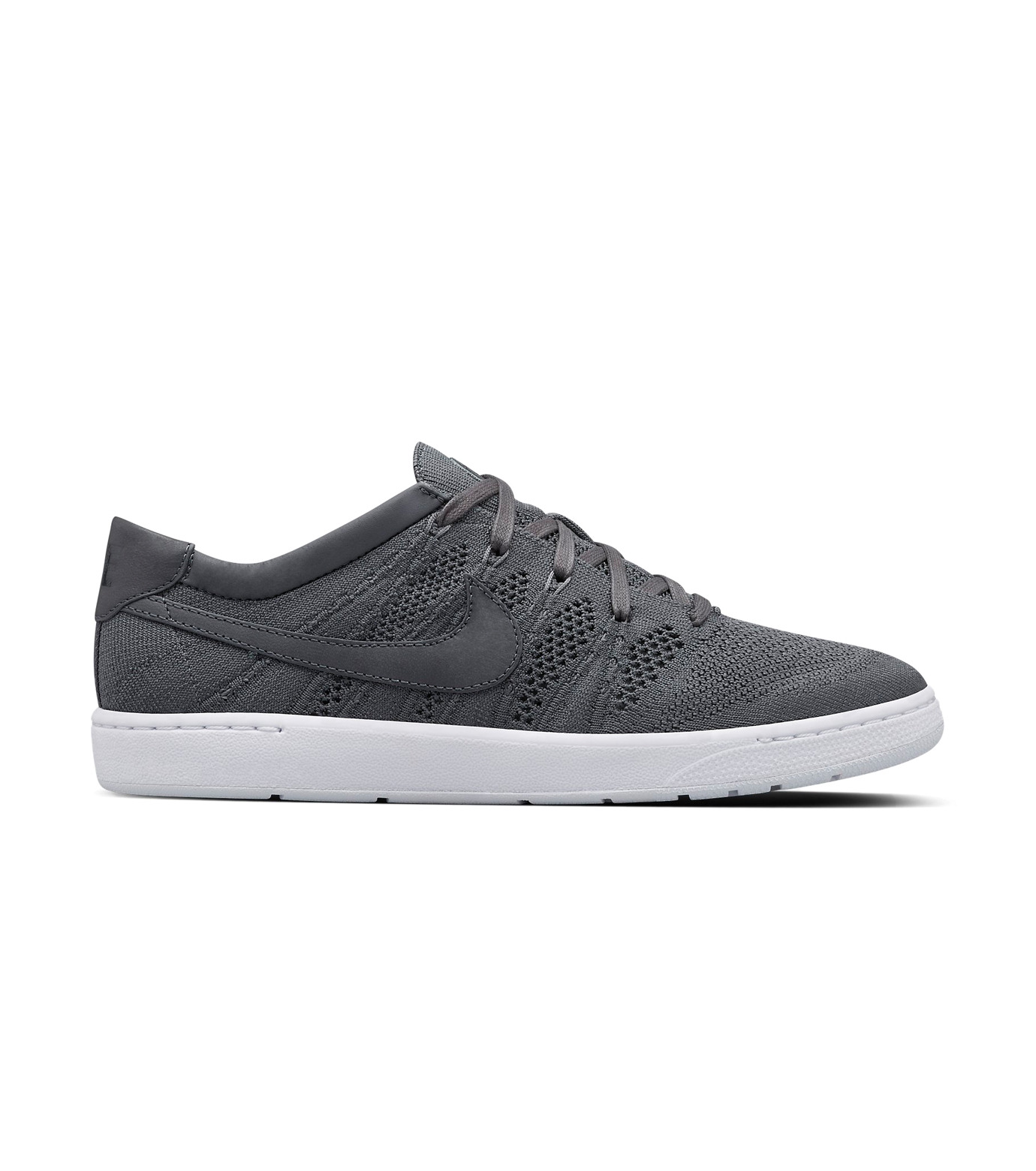NIKE(ナイキ)のCOURT TENNIS CLASSIC ULTRA FLYKNIT X RF-GRAY(シューズ/shoes)-836360-001-11 拡大詳細画像1