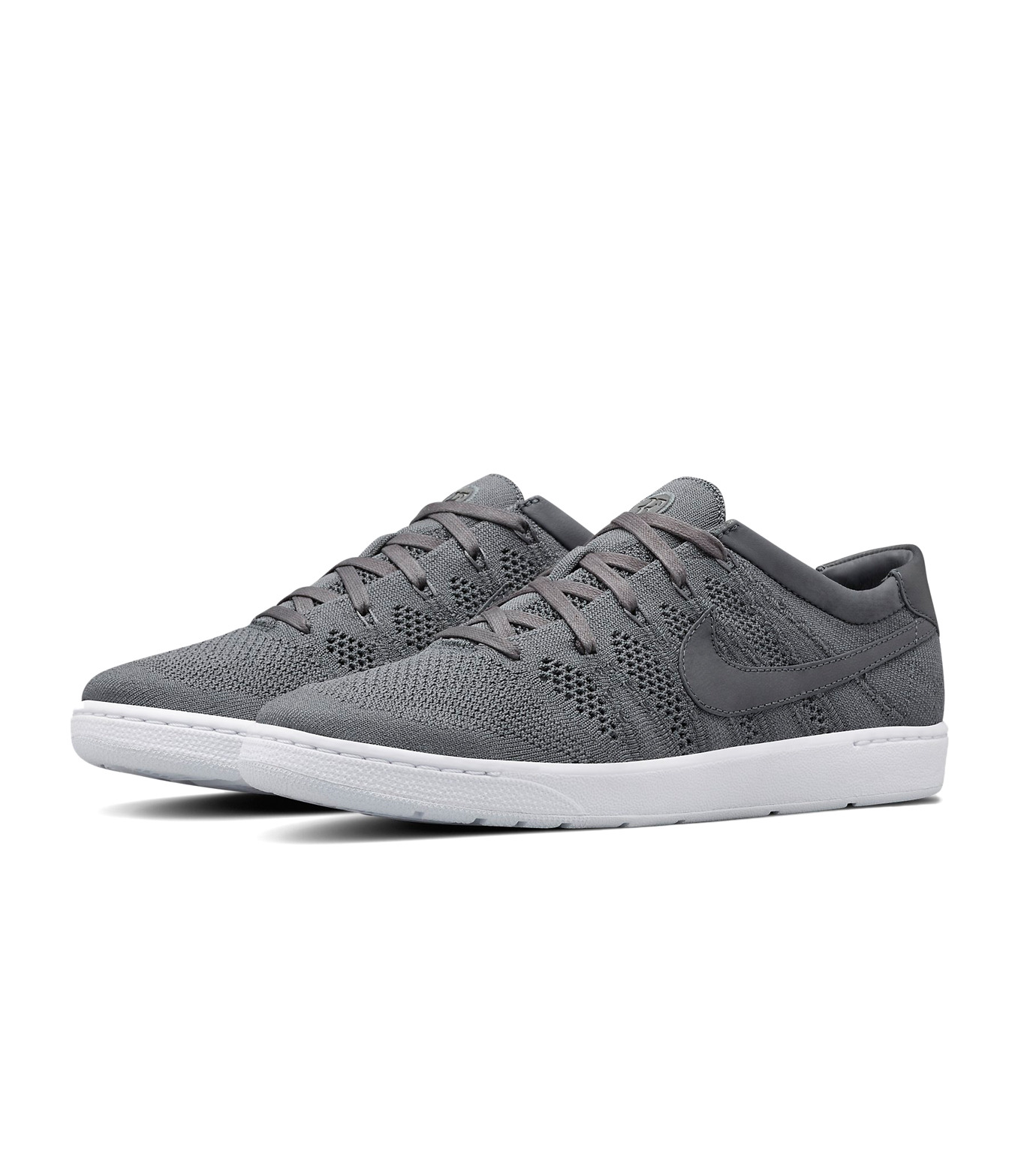 NIKE(ナイキ)のCOURT TENNIS CLASSIC ULTRA FLYKNIT X RF-GRAY(シューズ/shoes)-836360-001-11 拡大詳細画像3