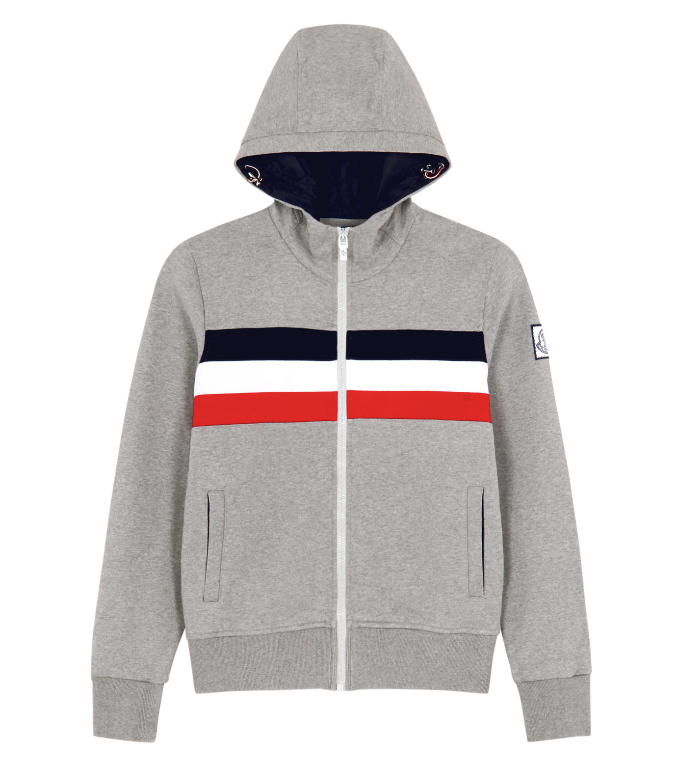 Moncler Gamme Bleu(モンクレールガムブルー)のSweat parka-CHARCHOL GRAY-84011-00-12 拡大詳細画像1