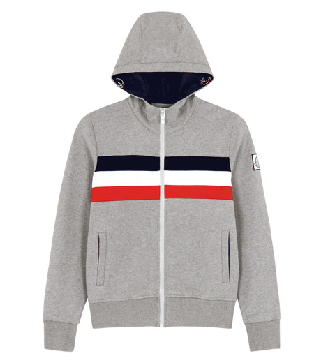 Moncler Gamme Bleu(モンクレールガムブルー)のSweat parka-CHARCHOL GRAY-84011-00-12 詳細画像1