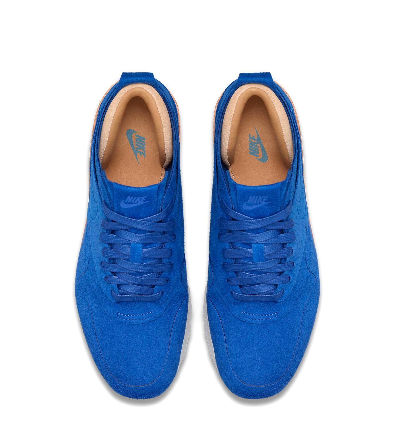 NIKE(ナイキ)のWMNS Air Max 1-BLUE(シューズ/shoes)-847672-400-92 拡大詳細画像4